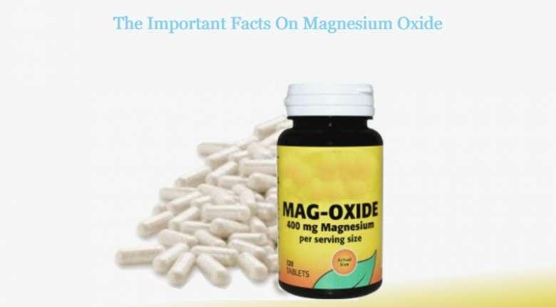 Magnesium Oxide, Vitamin
