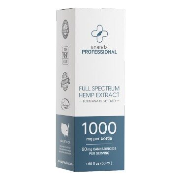 CBD, 1000mg Full Spectrum Tincture